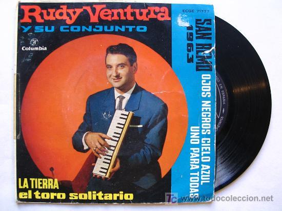 RUDY VENTURA Y SU CONJUNTO . SAN REMO 1963 (Música - Discos - Singles Vinilo - Solistas Españoles de los 50 y 60)