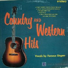 Discos de vinilo: LP - COUNTRY AND WESTERN HITS-VOCAL BY FAMOUS SINGERS-ORIGINAL AMERICANO, SOMERSET SIN FECHA. Lote 4306903
