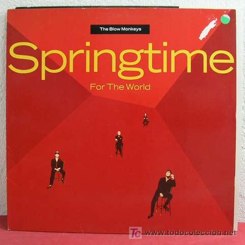 THE BLOW MONKEYS ( SPRINGTIME ) 1990 LP33 (Música - Discos - LP Vinilo - Pop - Rock Extranjero de los 90 a la actualidad)