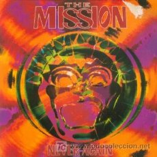 Discos de vinilo: THE MISSION - NEVER AGAIN - SINGLE RARO EDICION INGLESA - PUNK GOTICO. Lote 9399998