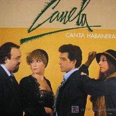 Discos de vinilo: CANELA CANTA HABANERAS L.P. 1980. Lote 27571486