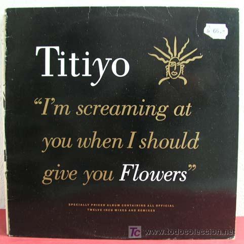 TITIYO ( FLOWERS ) 1990 LP33 (Música - Discos - LP Vinilo - Pop - Rock Extranjero de los 90 a la actualidad)