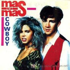 Discos de vinilo: MAS Y MAS ··· COWBOY / JE T'AIME MOI NON PLUS - (SINGLE 45 RPM). Lote 26749754