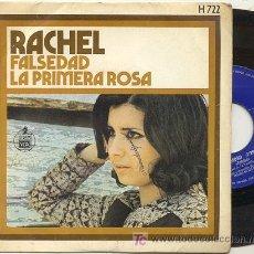 Discos de vinilo: SINGLE 45 RPM / RACHEL / FALSEDAD /// . Lote 21749824
