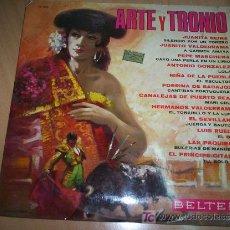 Discos de vinilo: DISCO DE VINILO EXITOS ARTE Y TRONIO DE LA CASA BELTER SIN USO AÑO 1969 UNA RELIQUIA. Lote 10217246