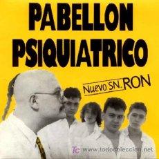 Discos de vinilo: PABELLON PSIQUIATRICO ··· RON / ENANO - (SINGLE 45 RPM) ··· NUEVO. Lote 26139887