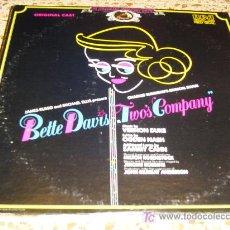Discos de vinilo: BETTE DAVIS LP EDITADO EN USA POR EL SELLO RCA.. Lote 4380576