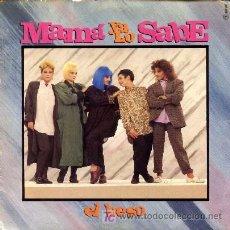 Discos de vinilo: MAMA YA LO SABE ··· EL BESO / SIENTO MIEDO - (SINGLE 45 RPM). Lote 26716270