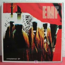 Discos de vinilo: EMF UNEXPLAINED EP (GETTING THROUGH - FAR FROM ME - THE SAME - SEARCH & DESTROY) 1992-LONDON. Lote 4387658