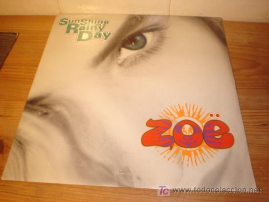 DISCO MAXI SINGLE VINILO SUNSHINE ON RAINY DAY AÑO 1990 (Música - Discos de Vinilo - Maxi Singles - Pop - Rock Extranjero de los 90 a la actualidad)