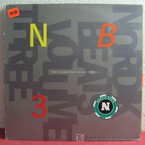 THIS IS NORDIK BEATS VOLUME THREE 1990 LP33 (Música - Discos - LP Vinilo - Pop - Rock Extranjero de los 90 a la actualidad)