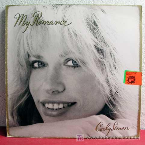 CARLY SIMON ( MY ROMANCE ) 1990 LP33 (Música - Discos - LP Vinilo - Pop - Rock Extranjero de los 90 a la actualidad)