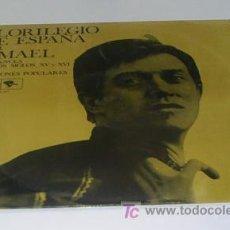 Discos de vinilo: ISMAEL - FLORILEGIO DE ESPAÑA, ROMANCES DE LOS S. XV Y XVI Y CANCIONES POPULARES (MOVIEPLAY, 1968). Lote 27051002
