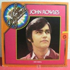 Discos de vinilo: JOHN ROWLES ( THE ORIGINAL JOHN ROWLES ) 1969 LP33. Lote 4408682