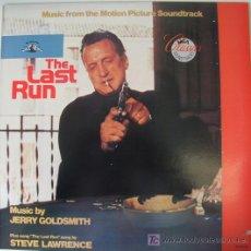 Discos de vinilo: THE LAST RUN - V.S.O. - MUSIC BY JERRY GOLDSMITH - 1980. Lote 26757477