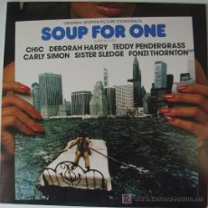 Discos de vinilo: SOUP FOR ONE - V.S.O. - CHIC / DEBORAH HARRY / TEDDY PENDERGRASS / CARLY SIMON / SISTER SLEDGE. Lote 27235513