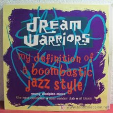 Discos de vinilo: DREAM WARRIORS ( MY DEFINITION OF A BOOMBASTIC JAZZ STYLE ) 1990 MAXI. Lote 4415122