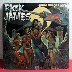 Discos de vinilo: RICK JAMES ( BUSTIN' OUT OF L SEVEN ) USA-1979 LP33. Lote 4420618