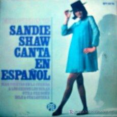 Discos de vinilo: SANDIE SHAW CANTA EN ESPAÑOL , EUROVISION 67. Lote 22895294