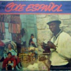 Discos de vinilo: COLE ESPAÑOL 1958. Lote 24044754