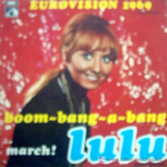 LULU , EUROVISION 1969 (Música - Discos de Vinilo - Maxi Singles - Festival de Eurovisión)