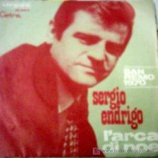 Discos de vinilo: SERGIO ENDRIGO FESTIVAL DE SAN REMO 1970. Lote 26340536