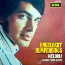 Discos de vinilo: ENGELBERT HUMPERDINCK , MELODIA 1969. Lote 23360809