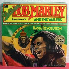 Discos de vinilo: BOB MARLEY AND THE WAILERS ( RASTA REVOLUTION ) GERMANY-1974 LP33. Lote 10822772