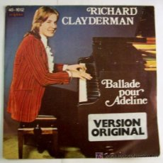 Discos de vinilo: RICHARD CLAYDERMAN- BALLADE POUR ADELINE. Lote 4441648