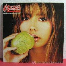 Discos de vinilo: SAXON ( INNOCENCE IS NO EXCUSE ) 1985-HOLANDA LP33 PARLOPHONE. Lote 155814860
