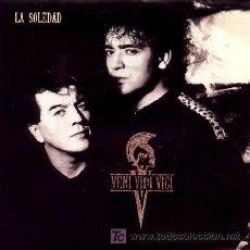 Discos de vinilo: VENI VIDI VICI ··· LA SOLEDAD / EL CIELO SE ESTÁ PERDIENDO UN ANGEL - (SINGLE 45 RPM) ··· NUEVO. Lote 26716333