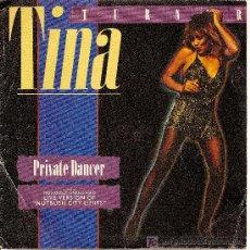 Discos de vinilo: TINA TURNER / PRIVATE DANCER / NUTBUSH CITY LIMITS / EMI 1984. Lote 27584967