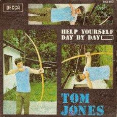 Discos de vinilo: TOM JONES ( 3 SINGLES ) DECCA. Lote 26733772