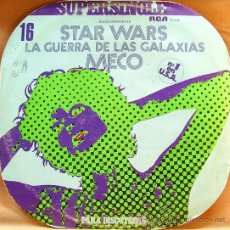 Discos de vinilo: MECO-STAR WARS PARA DISCOTECAS MAXI SINGLE EDITADO POR RCA EN 1977. Lote 4526994