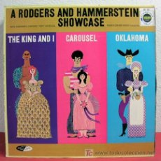Discos de vinilo: ROYAL FARNSWORTH SYMPHONY 'POPS' ORCHESTRA (THE RODGERS & HAMMERSTEIN SHOWCASE) USA LP33. Lote 4527416