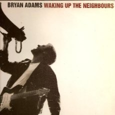 Discos de vinilo: BRYAN ADAMS / WALKING UP THR NEIGHBOURS / 1991 / A&M RECORDS / DOBLE LP. Lote 27035594