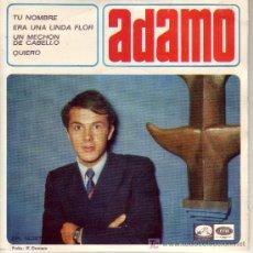 Discos de vinilo: ADAMO CANTA EN ESPAÑOL EP 1966 EMI SPA PORTADA Y DISCO. Lote 10776358