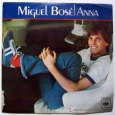 Discos de vinilo: MIGUEL BOSÉ- ANNA. Lote 4575641