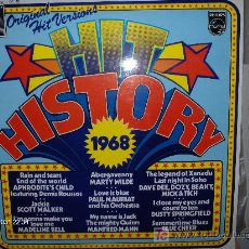Discos de vinilo: HIT HISTORY 1968 ---- MANFRED MANN- BLUE CHEER - S,WALKER- MARTY WILDE.... . Lote 13282491