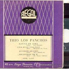 Discos de vinilo: EP 45 RPM / TRIO LOS PANCHOS / UN RAYITO DE LUNA / /// EDITADO POR CBS. Lote 27100702
