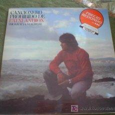 Discos de vinilo: PATXI ANDION: CANCIONERO PROHIBIDO (BIOGRAFIA MALDITA). Lote 25425305