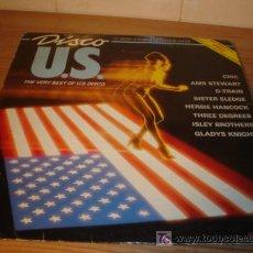 Discos de vinilo: DISCO LP VINILO - U.S. DISCO - THE VERY BEST OF - AÑO 1982. Lote 4586198