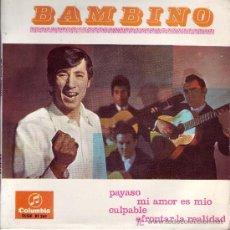 Discos de vinilo: BAMBINO DISCO EP COLUMBIA SCGE 81261 1967. Lote 10801136