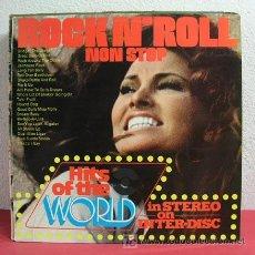 Discos de vinilo: 20 NON-STOP ROCK N' ROLL HITS OF THE WORLD LP33. Lote 4604020
