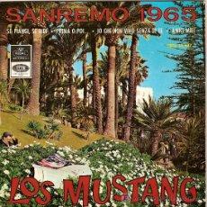 Discos de vinilo: LOS MUSTANG EP SELLO EP SELLO EMI-REGAL AÑO 1965. Lote 4614040
