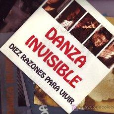 Discos de vinilo: DANZA INVICIBLE LOTE DE 5 SINGLES EN VINILO Y CARATULA VER FOTO ADICIONAL. Lote 26252488