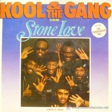 Discos de vinilo: KOOL & THE GANG-STONE LOVE MAXI SINGLE EDITADO POR MERCURY EN 1987. Lote 4618566