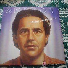 Discos de vinilo: JOAN MANUEL SERRAT: BIENAVENTURADOS. Lote 27355704