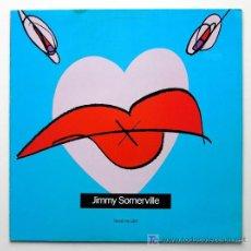 Discos de vinilo: JIMMY SOMERVILLE ··· REAL MY LIPS ··· NUEVO. Lote 26786330