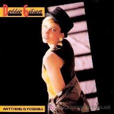Discos de vinilo: DEBBIE GIBSON ··· ANYTHING POSSIBLE - (LP 33 RPM) ··· NUEVO. Lote 26817520